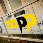 ZAPP office Rotterdam bestickering