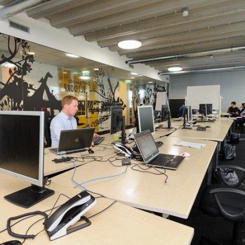 <strong>Projectteam kantoorruimte bij ZAPP office Rotterdam</strong>