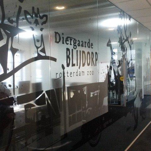 <strong>Blijdorp stickers bij Zapp Office Rotterdam</strong>