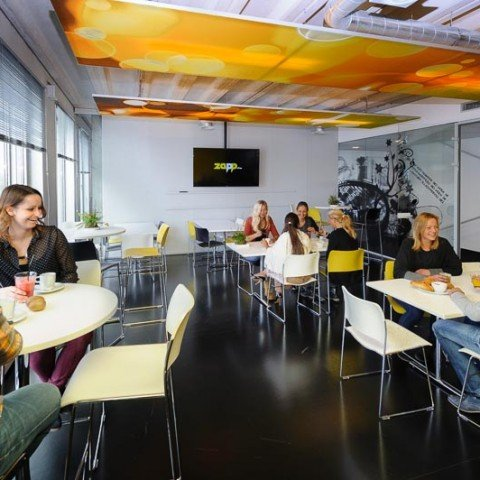 <strong>Brasserie bij Zapp Office Rotterdam</strong> Lunchrestaurant voor onze huurders, ook als ruimte te huur voor events.