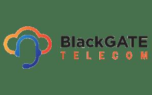 Blackgate logo transparant