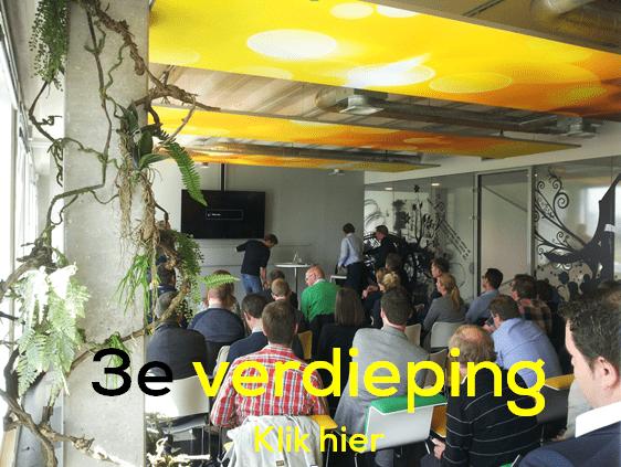3e verdieping ZAPP office Rotterdam