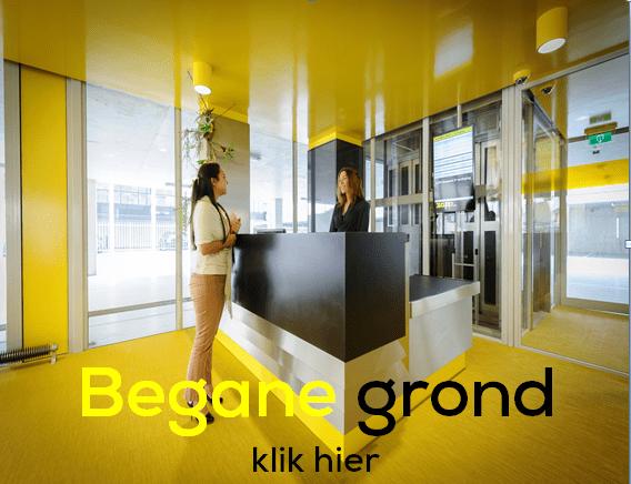 Begane grond receptie ZAPP office Rotterdam
