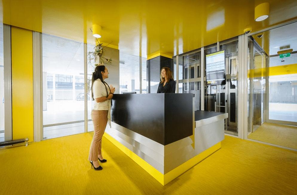 Receptie Zapp Office Rotterdam